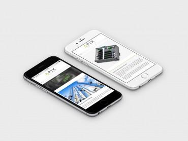 apix analytics site web responsive design